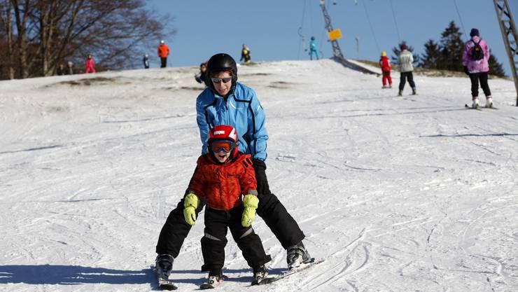 Bald geht es auch auf den Jurahöhen wieder los mit Skifahren.
