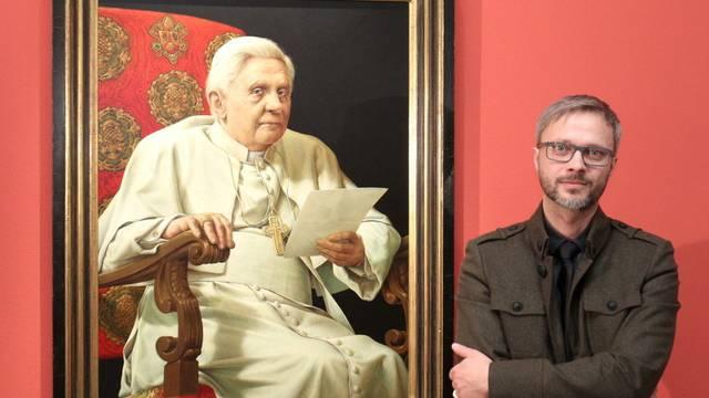 Maler Triegel und sein Papst-Porträt