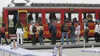 Jungfraubahn-Gruppe erwirtschaftet einen Rekordgewinn (Archiv)