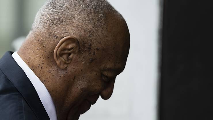Bill Cosby bei der Ankunft im Gericht.