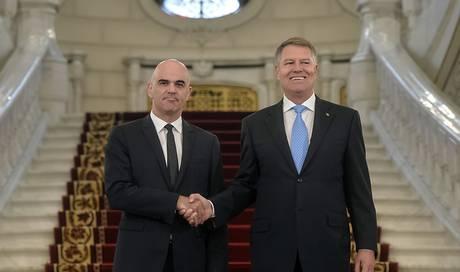Berset besucht EU-Ratspräsidentschaftsland Rumänien