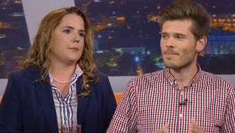 Martina Bircher und Rolf Schmid