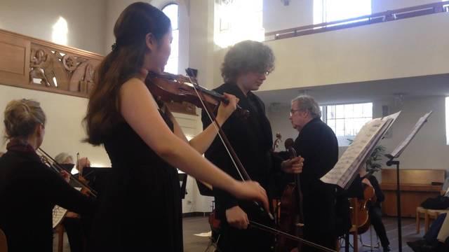 Violinistin Hani Song feiert bereits internationalen Erfolg.