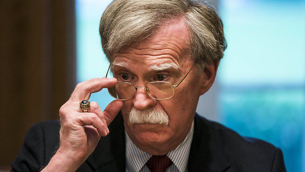 Unverwechselbar: US-Sicherheitsberater John Bolton.