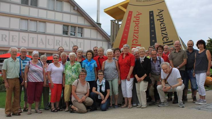 Teilnehmer/Innen der TG Muhen, Brittnau & Gränichen
