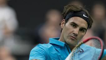 Roger Federer startet überzeugend ins ATP-Turnier von Rotterdam