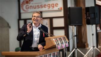 «Den Druck aufrechterhalten» – SP-Regierungsrat Urs Hofmann.