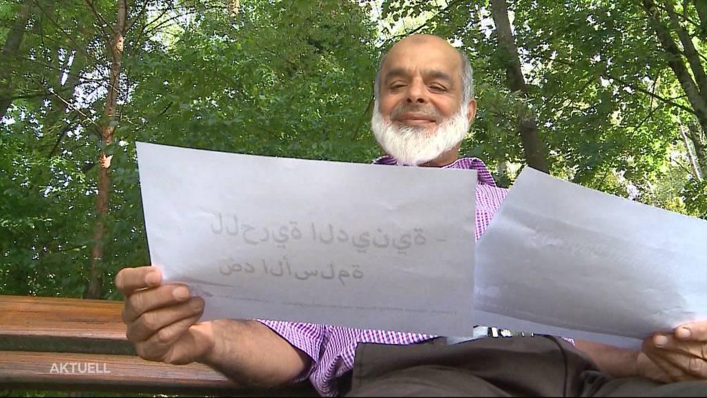 Glarner provoziert mit pseudo-arabischem Wahlplakat