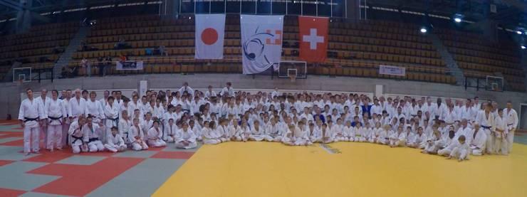 Ungefähr 380 Teilnehmer nahmen am Judo Day in Bern teil.