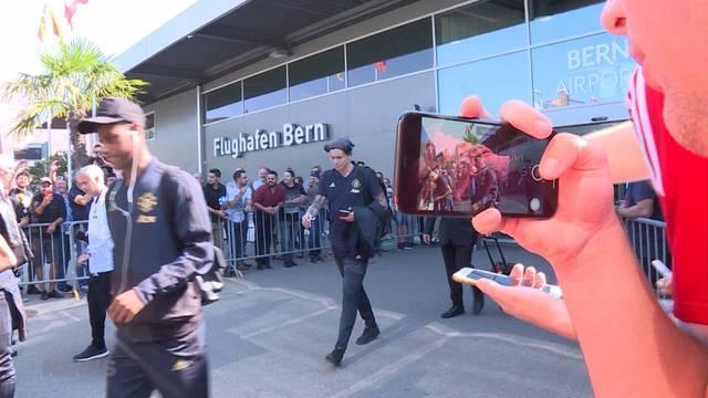 ManU-Stars sind in Bern gelandet