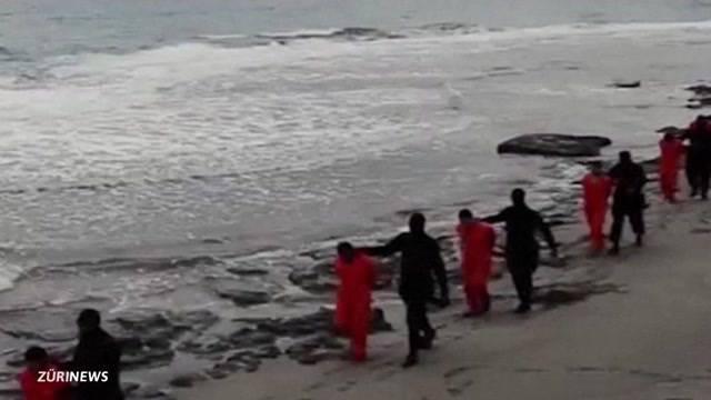 Die Terror-Miliz IS köpft in Liybien 21 koptische Christen