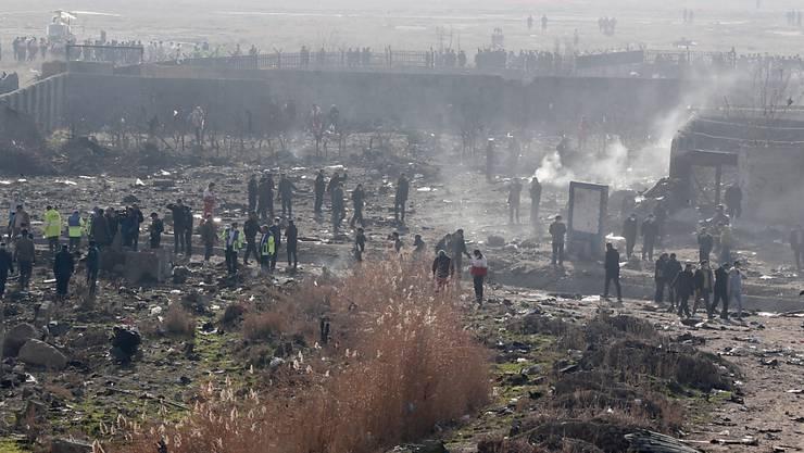 Internationale Experten sollen in der Islamischen Republik Iran die jüngste Flugzeugtragödie mit einer abgeschossenen Boeing untersuchen. (Archivbild)