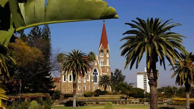 Parlamentsgarten und Christuskirche (Bild: Nicole Annette Müller