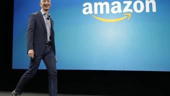 Profitiert vom hohen Kurs der Amazon-Aktie: Amazon-Gründer und -Chef hat diese Woche eine Million Aktien verkauft. (Archivbild)