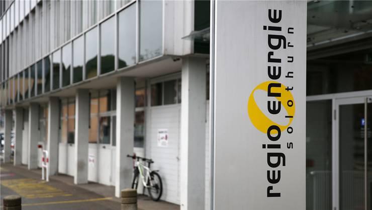Die in Solothurn beheimatete Regio Energie bietet auch Ökostrom an.