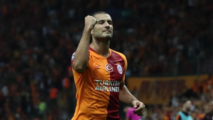 Eren Derdiyok markiert im neunten Ligaspiel seinen vierten Treffer