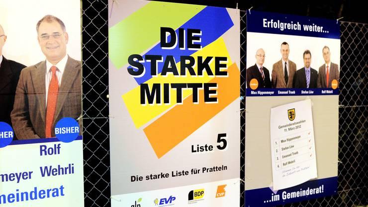 Die «Starke Mitte» kam etwa bei den Einwohnerratswahlen 2012 zum Tragen. Für den Nationalrat zuletzt 2011.