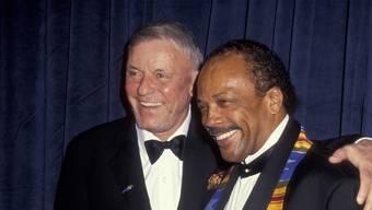 Der Musiker und Musikproduzent Quincy Jones im Gespräch