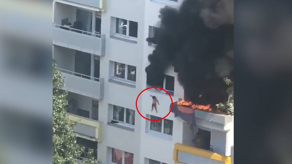 Feuer in Grenoble: Retter fangen Kinder aus zehn Metern Höhe und brechen sich die Unterarme