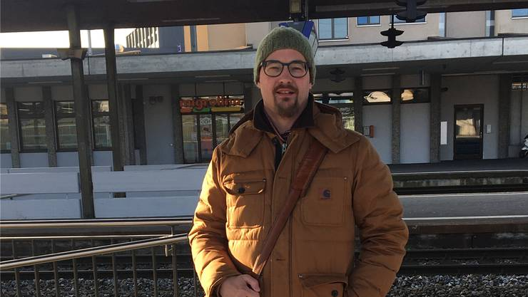 Christoph Erne (47), Leiter HR Services, Lenzburg.