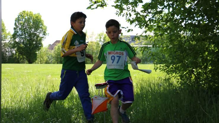 Mit rund 130 Teams nutzten die Schüler aus der 3. bis 6. Klasse im Orientierungslauf die Möglichkeit, am Kantonalen Schulsporttag teilzunehmen.