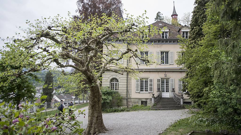 Bei der Villa Auf Musegg gibt es ab nächstem Frühling eine Buvette. (Archivbild)