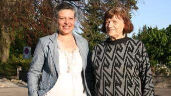 Cristina Pitschen-Loderer (links) übernahm von Rita Mosimann die operative Leitung der Spitex Grenchen.