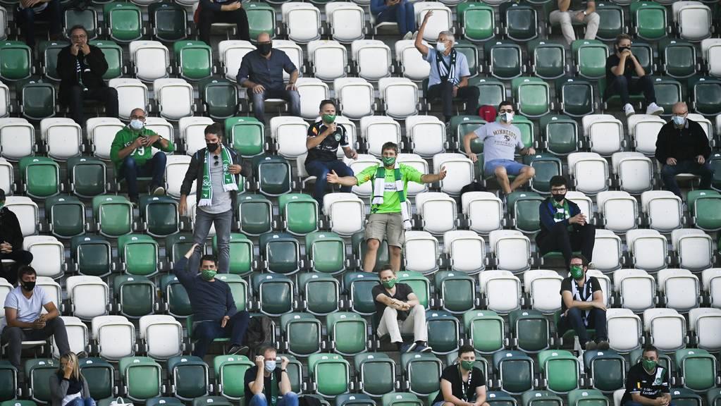 Bald dürfen wieder mehr Fans den FC St.Gallen im Kybunpark anfeuern.