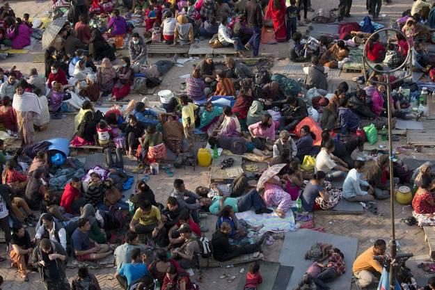 Tausende Nepalesen haben ihr Zuhause verloren.