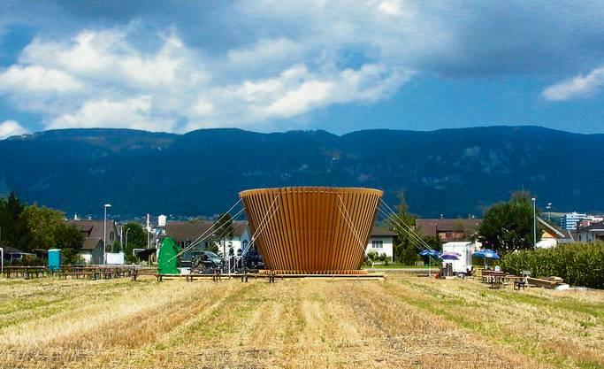 Bauherrschaft: Quartierverein Weststadt Solothurn, Solothurn Kunstschaffender: Ruedi Fluri, Solothurn
