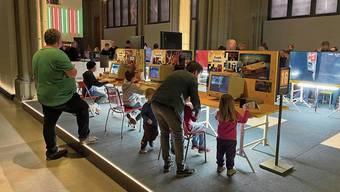 Ein Teil der Ausstellung «Games» ist für mindestens 16-Jährige gedacht, wird aber auch von viel Jüngeren genutzt.