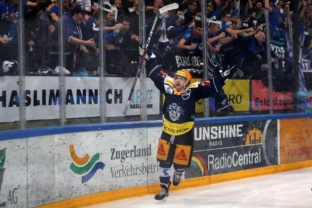 Auch Lino Martschini möchte diese tolle Saison mit einem Titelgewinn krönen.