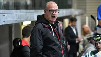 EHCO-Trainer Maurizio Mansi erwartet ein hartes Spiel gegen die EVZ Academy.