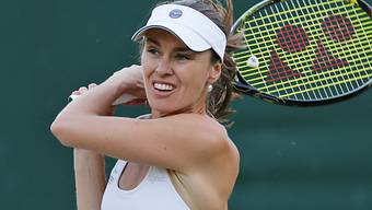 Im Doppel-Halbfinal des US Open: Martina Hingis