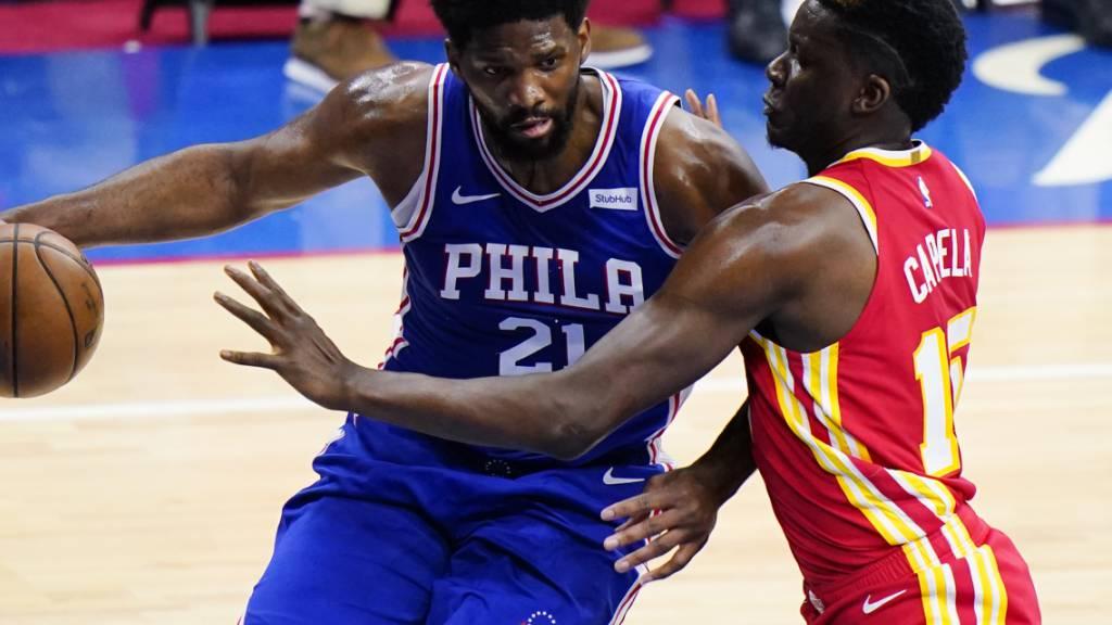 Hawks und Capela verlieren zweites Spiel in Philadelphia
