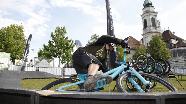 Die Bike-Days sind jeweils ein Grossanlass in Solothurn.