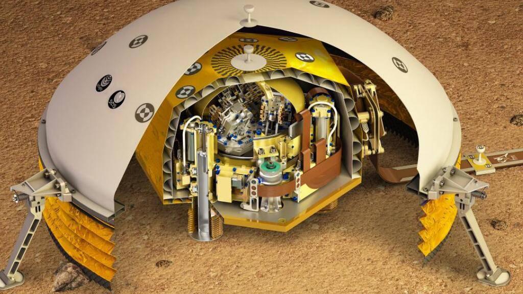 ETH misst dem Mars den Puls - und findet zu neuen Erkenntnissen