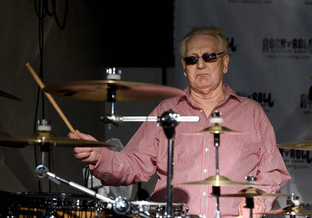 Ginger Baker 2015 beim «Rock 'N' Roll Fantasy Camp» in Hollywood (© Getty Images)