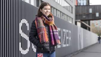 Andrea Marti aus Gipf-Oberfrick hat heute Abend im Studio Unterstützung von ihrem Bruder und ihrem Freund. Die Eltern der 17-Jährigen werden von zu Hause aus zuschauen.