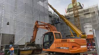 Die Bauarbeiten am Bundeshaus Ost dauerten fast vier Jahre. Jetzt ist die Sanierung abgeschlossen worden. (Archivbild)