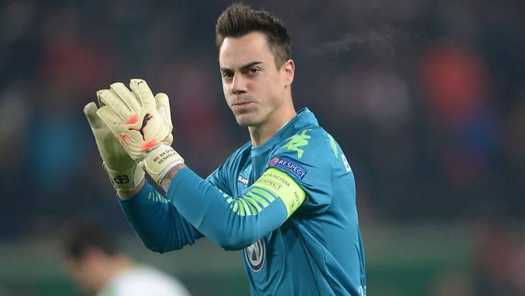 Diego Benaglio verlängerte seinen Vertrag in Wolfsburg vorzeitig
