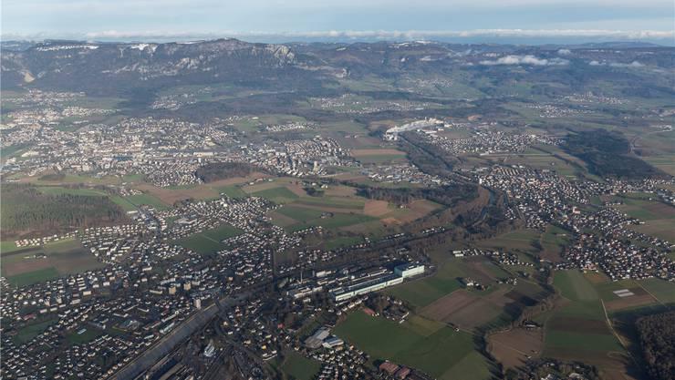 Fusionieren Biberist, Derendingen, Luterbach und Zuchwil mit Solothurn, müsste eine neue Ortsplanung über das ganze Gebiet erfolgen.