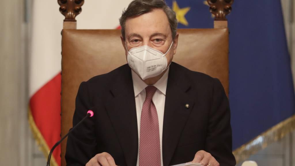 Draghis Regierung in Italien vor wichtigen Pandemie-Entscheidungen