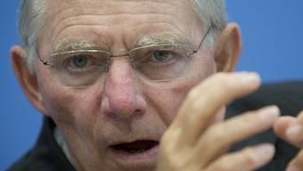 Wolfgang Schäuble: «Wir machen das nicht mit Druck».
