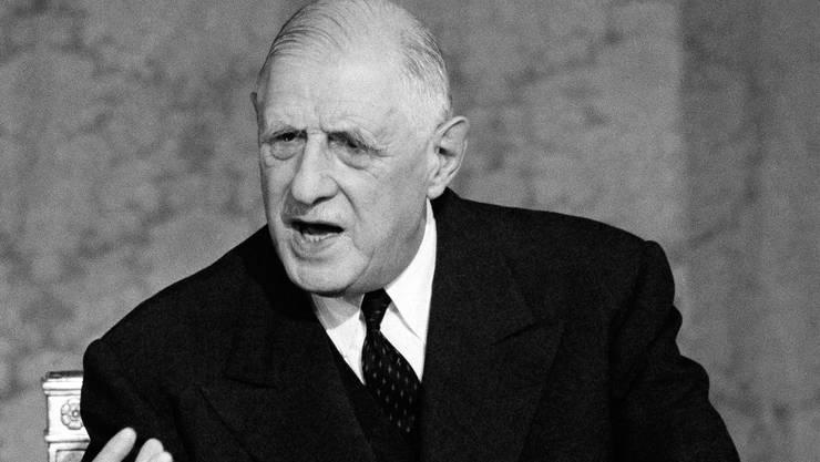 Charles de Gaulle, Amtszeit: 8. Januar 1959 – 28. April 1969