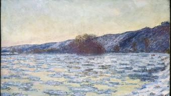 Claude Monets «Eisschollen im Dämmerlicht» von 1893 zählt zu den Meisterwerken im Museum Langmatt.
