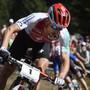 Schlussfahrer Nino Schurter wird seinem Status im Team-Wettkampf gerecht und sichert der Schweiz die erste Goldmedaille an der WM in Kanada