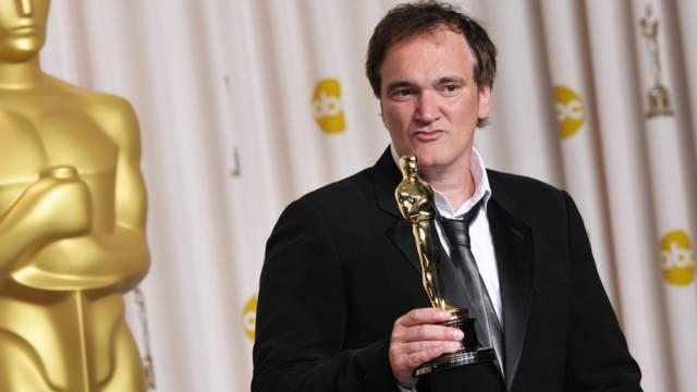 Quentin Tarantino bei der Oskarverleihung 2013