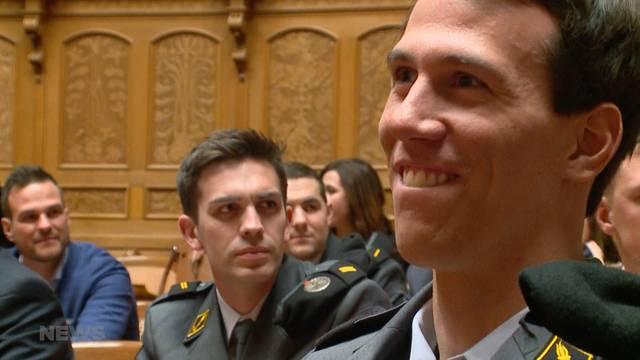 Olympischer Besuch im Bundeshaus