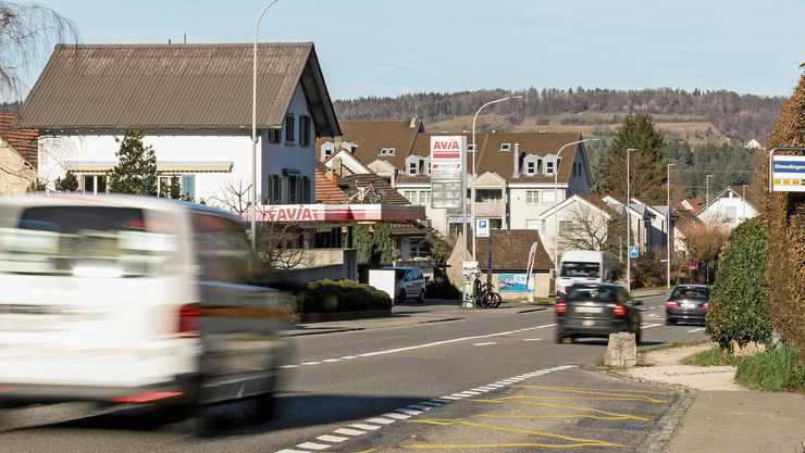 Ehrendingen rechnet wegen des Projekts Oase mit 50 Prozent mehr Durchgangsverkehr.